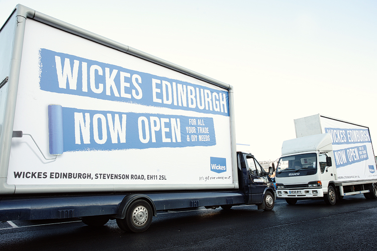 Wickes New Store Open Edinburgh